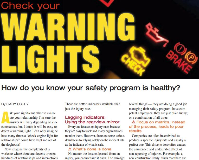 Check your warning light