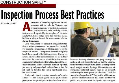 Inspection Process Best Practices