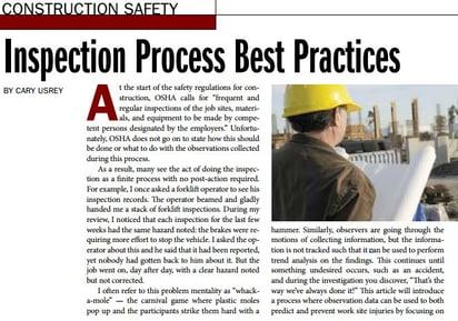 Inspection Process Best Practices