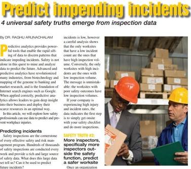 Predict impending incidents