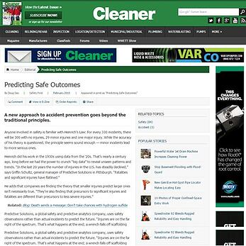 Predicting Safe Outcomes