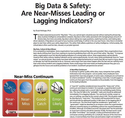 Big Data & Safety