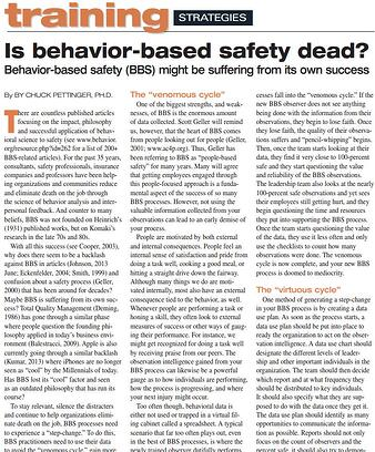 Is behavior-based safety dead?
